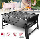 BBQ Barbecue Grill Fold Portable Charcoal Stove Camping Garden Outdoor BBQ Set photo