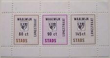 Stadspost Drunen 1984 - Blok Gemeentewapen van Waalwijk