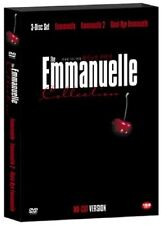 THE Emmanuelle Collection - Sylvia Kristel 3-Disc BOX SET DVD *NEW