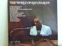 RAY   CHARLES             LP         THE  WORLD  OF  RAY  CHARLES