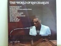 RAY   CHARLES             LP         THE  WORLD  OF  RAY  CHARLES