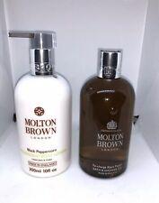 Molton Brown Re-charge Black Pepper Bath & Shower Gel & body lotion 300ml set