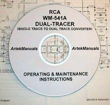 RCA WM-541A Dual Tracer Operating & Maintenance Manual