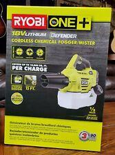 Brand New Ryobi One+18 Volt Disinfectant Chemical Fogger/ Mister