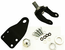 Left Front Caster w/Bracket for Crazy Cart DLX (Deluxe)