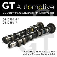 AUDI SEAT VW INLET & EXHAUST CAMSHAFT SET 1.8 / 2.0 16V 051109021 & 051109022B