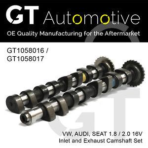 CAMSHAFT SET AUDI SEAT VW INLET & EXHAUST 1.8 / 2.0 16V 051109021 & 051109022B