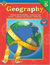 Brighter Child Geography Grade 5 Map Skills with Answer Key National and World
