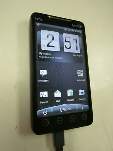 HTC EVO 4G, (SPRINT), CLEAN ESN, WORKS, PLEASE READ!! 43516