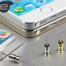 2 IN 1 Sim Card Tray Eject Pin Tool & 3.5mm Earphone Dust Plug