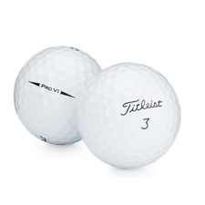 Golf Balls Titleist Pro V1 Practice Quality Great for Professional Players White