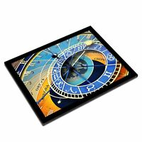 A3 Glass Frame - Prague Astronomical Clock Old Town Art Gift #16250