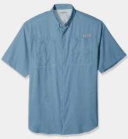 NEW Columbia Mens PFG Tamiami II Omni-Shade Short Sleeve Fishing Shirt 1X