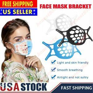 10Pcs 3D Reusable Face Cover Bracket Inner Stand Holder Support Frame Face Mask