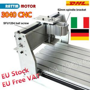 〖ITA〗 3040Z-DQ CNC Router Machine Milling Engraving Desktop Frame Ball Screw Kit