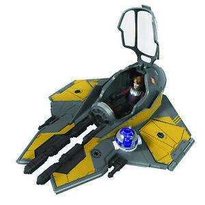 Star Wars Mission Fleet Anakin Skywalker Jedi Starfighter 2.5in Figure & Vehicle