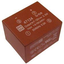 myrra 47124 Trafo 100-240V AC/DC-Wandler 12V 210mA Electronic-Transformer 854814