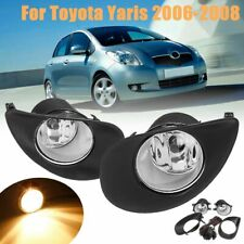For 2006-2008 Toyota Yaris Hatchback Fog Light Replacement +Switch Wiring Kit
