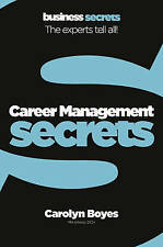 Very Good, Career Management (Collins Business Secrets), Boyes, Carolyn, Book