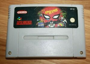 Spider - Man Supernintendo snes S nes 100% Original