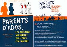 Parents D'ados : Les Questions Auxquelles Vous Etes Confrontes - Ariane Morris ; Michel Riu