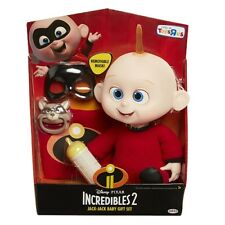 "Disney Pixar Incredibles 2 Jack-Jack 12"" Baby Gift Set 30 cm Toy Doll"