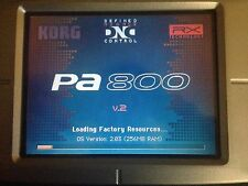 KORG PA800 V2.03-256MB !! UPGRADE KIT with Licenced OS . By DTL Elektronik