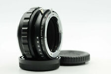 Fotodiox Pro DLX Stretch Nikon F/G Lens to MFT Camera Adapter w/Helicoid    #375