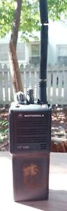 Motorola HT 1000  Radio With Extra Battery PARTS OR REPAIR