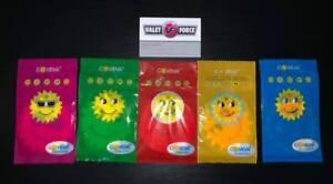 50 Bulk Coveva Smiley Sun Hanging Air Fresheners Car Taxi Van Wash Valet