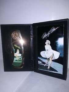 """Knife 3"""" Blade 4"""" Handle Marilyn Monroe Collectible Stainless Steel White Dress!"""