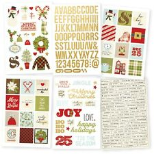 Simple Stories-Classic Christmas Sticker Pack-Perfetto ADESIVI Planner