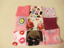 QUIRKY FUN PATCHWORK SQUARE MICROWAVE LAVENDER WHEAT BAG PAIN RELIEF RELAXATION