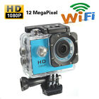 1080P Full HD 12MP SJ4000 WIFI 30M Waterproof Sports Action Camera Helmet CAM DV