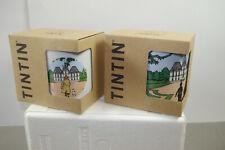 TIM STRUPPI Tintin Mühlenhof Tassen Set 2 Stück Porzellan Schloß + Frühstück L
