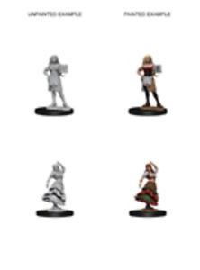 Pathfinder Unpainted Minis Wv4 Bartender/Dancing Girl Miniatures NEW