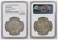 NGC Panama 1931 Un 1 Balboa Silver Coin VF