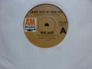 "BLUE HAZE "" Smoke gets in your eyes / Anna Rosanna"" 7"" Vinyl Record 45rpm"
