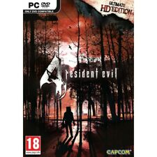 Resident Evil 4 Ultimate HD Edition PC DVD ROM & 15 PAL Capcom