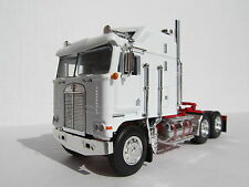 DCP 1/64 SCALE KENWORTH K100 AERODYNE CABOVER WHITE WITH RED FRAME (TRACTOR ONLY