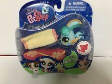 NIP 2007 Hasbro Littlest Pet Shop LPS Blue Yellow Angelfish Angel Fish #831