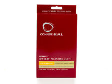 Connoisseurs UltraSoft Gold Jewelry Polishing Cloth Cleaner Dry Polish Care Wipe