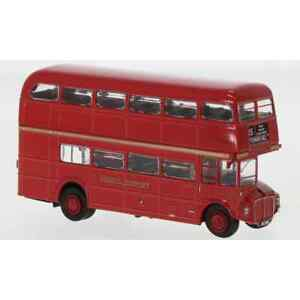 BREKINA 61100 1/87 H0 AEC ROUTEMASTER BUS TRANSPORT LONDONIEN VOITURE MINIATURE