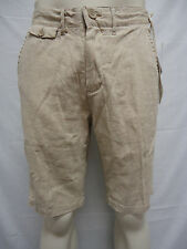 PROJEK RAW Linen and Cotton Shorts BEIGE 40