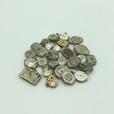Lot of 25 Antique Vintage Mechanical Watch Movements Steampunk Lot #2