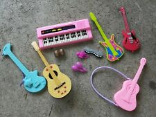 Mattel Barbie Guitar Musical Music Lot