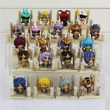 SAINT SEIYA -  Mini Figuras Santos de Oro y de Bronce Q version Gold saints