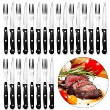 24tlg. Steakbesteck Steak Messer Gabel Grillbesteck Pizza Besteck Set Edelstahl