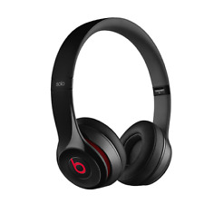 Beats by Dr. Dre MH8W2AM/A Solo2 Wired On-Ear Headphones Black