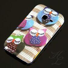 Samsung Galaxy Ace Duos s6802 Hard Case Cellulare Astuccio sonno fine GUFO OWL